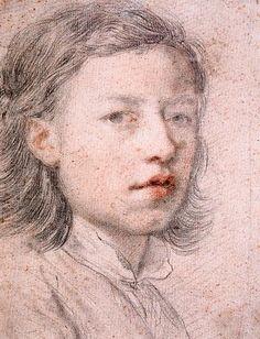 Self portrait aged 12 by anton raphael mengs
