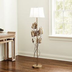 Tropical Floor Lamp