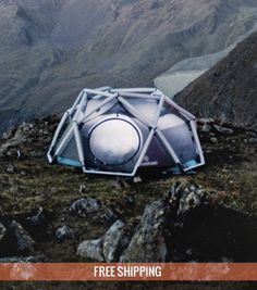 The Cave: inflatable tent