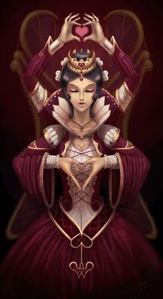 Queen of Hearts by dyadav.deviantart.com