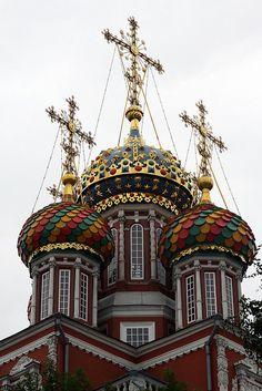 The Stroganov Church - Nizhny Novgorod, Russia