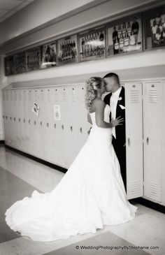 Someday, if you marry my high school sweetheart, you will take a picture like this one. aww this is cute