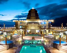 This is what I like about cruise ships.