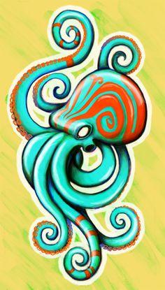 Octopus by Ghouley.deviantart.com on @deviantART