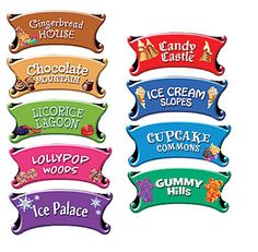 Candy Land Directional Sign