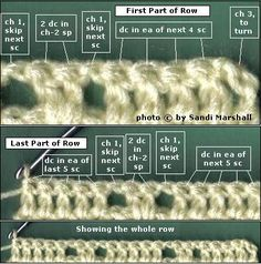 skip stitch crochet, crochet basic, crochet stitches, stitch patterns