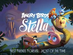 Angry Birds Stella App by Rovio