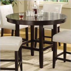 dine room, round counter, height dine, modus furnitur, round tables