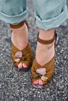 Crystal shoesies