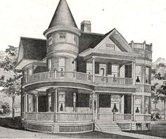 Sears Home Catalog - Victorian homes at the ready