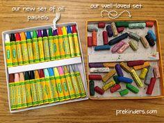 List of the best art supplies for preschool