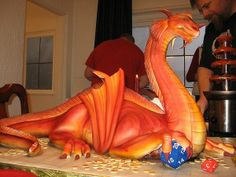 love dragons especially  when they are sweet and edible