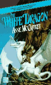 """""""The White Dragon"""" from the Dragon Riders of Pern series. I love reading these books by Anne McCaffrey."""