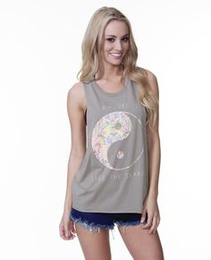 Our Harmony Muscle Tee with ying & yang! Shop ripcurl.com!