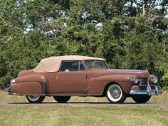 1942 Lincoln Continental Cabriolet