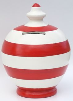 I love it. It's like the Cat in the Hat's moneybox