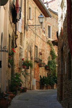 Lucignano Arezzo Italy.  Another short drive from Cortona.  Shopping anyone??