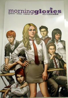 Morning Glories Vol 1 & 2 graphic novel series by Nick Spencer