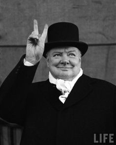 Winston Churchill becomes Prime Minister of Britain and becomes symbol for allied determination through WW2