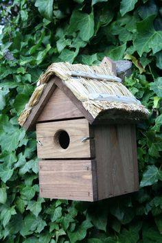 Thatched Bird Box
