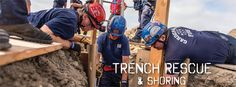 Upcoming Safety and Rescue Training at EICC - Emergency Building Shoring and Trench Rescue and Shoring