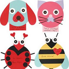 Lots of Valentines Crafts for Kids