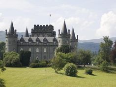 Inveraray Castle - This magnificent stately home on the shores of Loch Fyne boasts tremendous views across the Scottish countryside. You might recognise its fairy-tale turrets from the Christmas 2012 episode of Downton Abbey when the Crawleys holiday in Scotland.