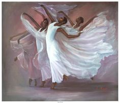 Angel Wings By Laverne Ross African American Art