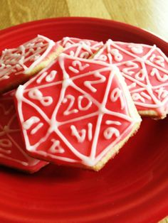 Cookies of D dice! Roll 1d20 to see how many cookies you can take...