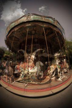 Merry-go-round, Paris.