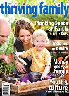 Free Thriving Family Magazine App! {iPhone or iPad}