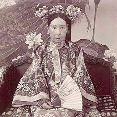 Empress Cixi of China.