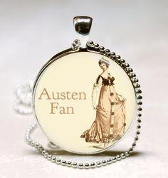 Jane Austen Necklace #DearMrKnightley #FavoriteAustenMoment
