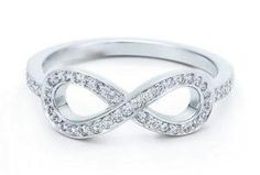 cute infinity ring