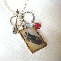 Pi Beta Phi Necklace  #pi_phi #arrow #angel