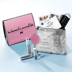 Bridesmaid's Survival Kit | #exclusivelyweddings | #bridesmaidgifts