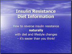 Insulin Resistance Diet Info