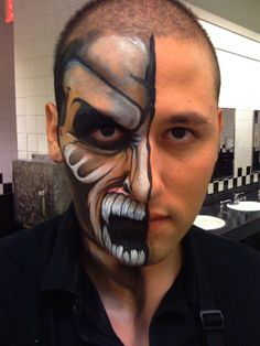painted face 1