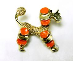 Vintage Poodle Pin Gerry's Enamel by EclecticVintager on Etsy  have