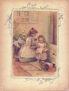Little Darling's Lesson Book, 1890s
