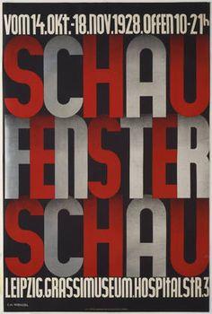 F. H. Wenzel. Schau, Fenster, Schau. 1928