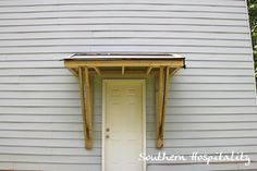 back door roof by Southern Hospitality #LowesCreator