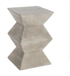Concrete occasional table