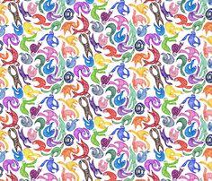 Gobs o' Sloths fabric by ceanirminger on Spoonflower - custom fabric
