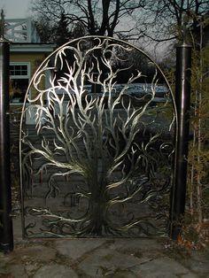 Tree gate.