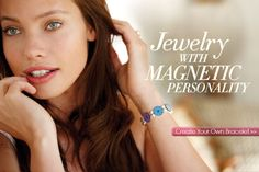 {GIVEAWAY}  Win and design your own Magnetic Bracelet. Check it out you will love it! (ends 31/8)