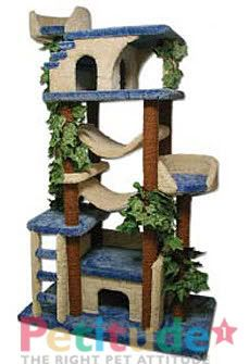 cat trees and scratch post