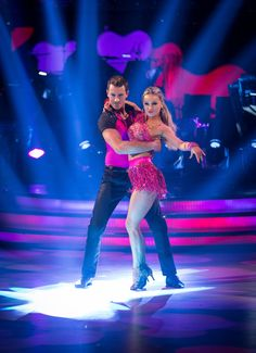 Ashley Taylor Dawson and Ola Jordan - Strictly Come Dancing 2013 - Week 1