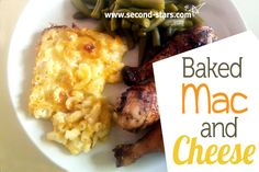 The BEST baked mac and cheese >>>> http://second-stars.com/baked-macaroni-and-cheese/