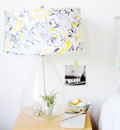 Pinecone Camp:DIY  Lampshade cover